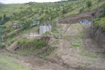 Der Bauplatz 2003