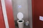 Das fertige WC-Häuschen