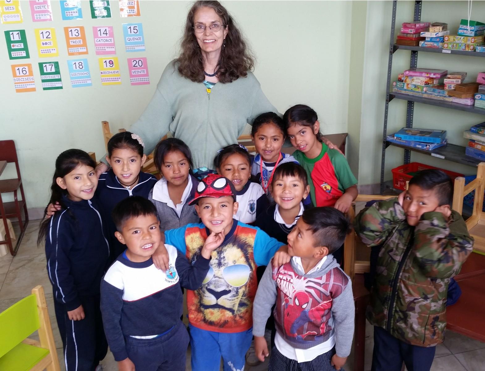 Volunteer Report from Arlene - Pro Minadores de Suenos