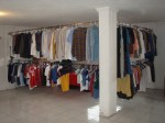 well organised second hand clothes store