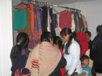 the second hand clothes store is a real benefit for the needy families