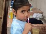 Aufgabenhilfe beginnt mit Zähneputzen