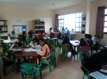 Aufgabenhilfe für 40 Kinder