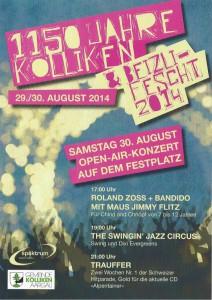 Flyer_Beizlifest_Koelliken_August_2014