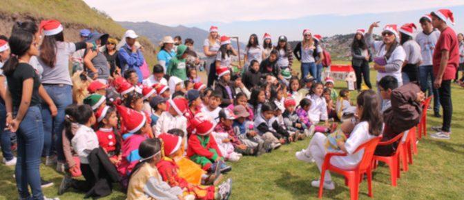 Eine Weihnachten mit viel Freude und Geschenken