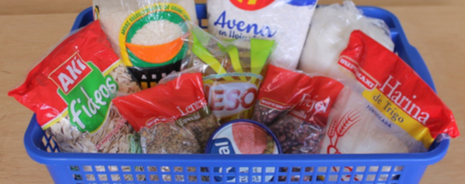 Projecto Corona: Entrega semanal de alimentos con una tarea pedagógica
