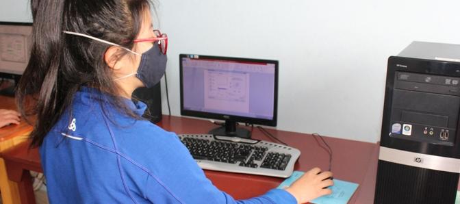 Computerkurse für die Kinder